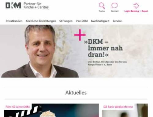 DKM: Individualisierung des webCenter-Mandanten