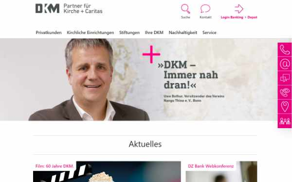 DKM Startseite