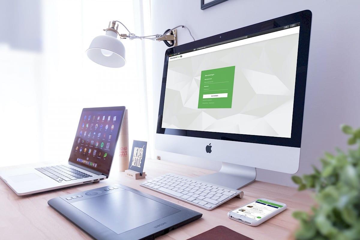 incognito digitale lösungen - Mitarbeiter-App Vorschau Desktop