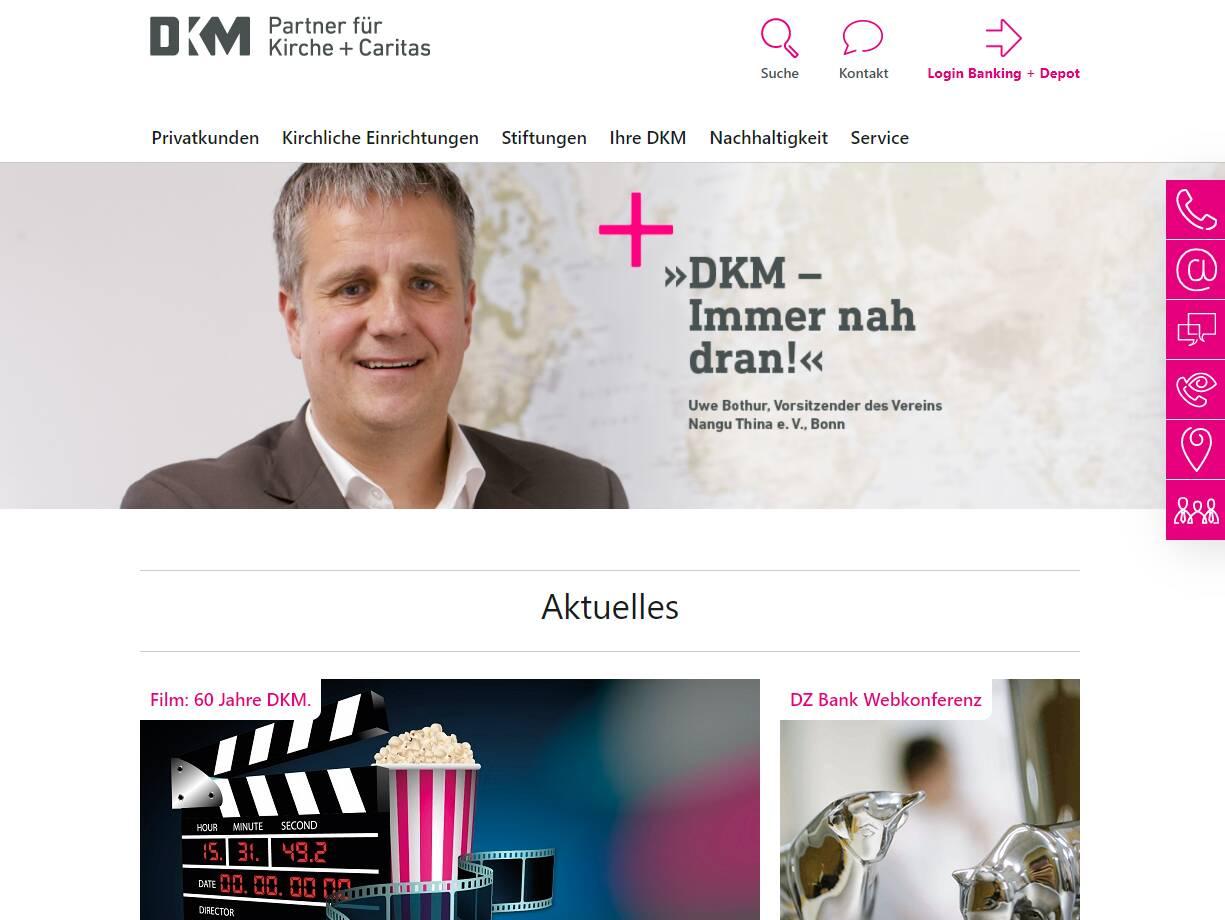 DKM Homepage