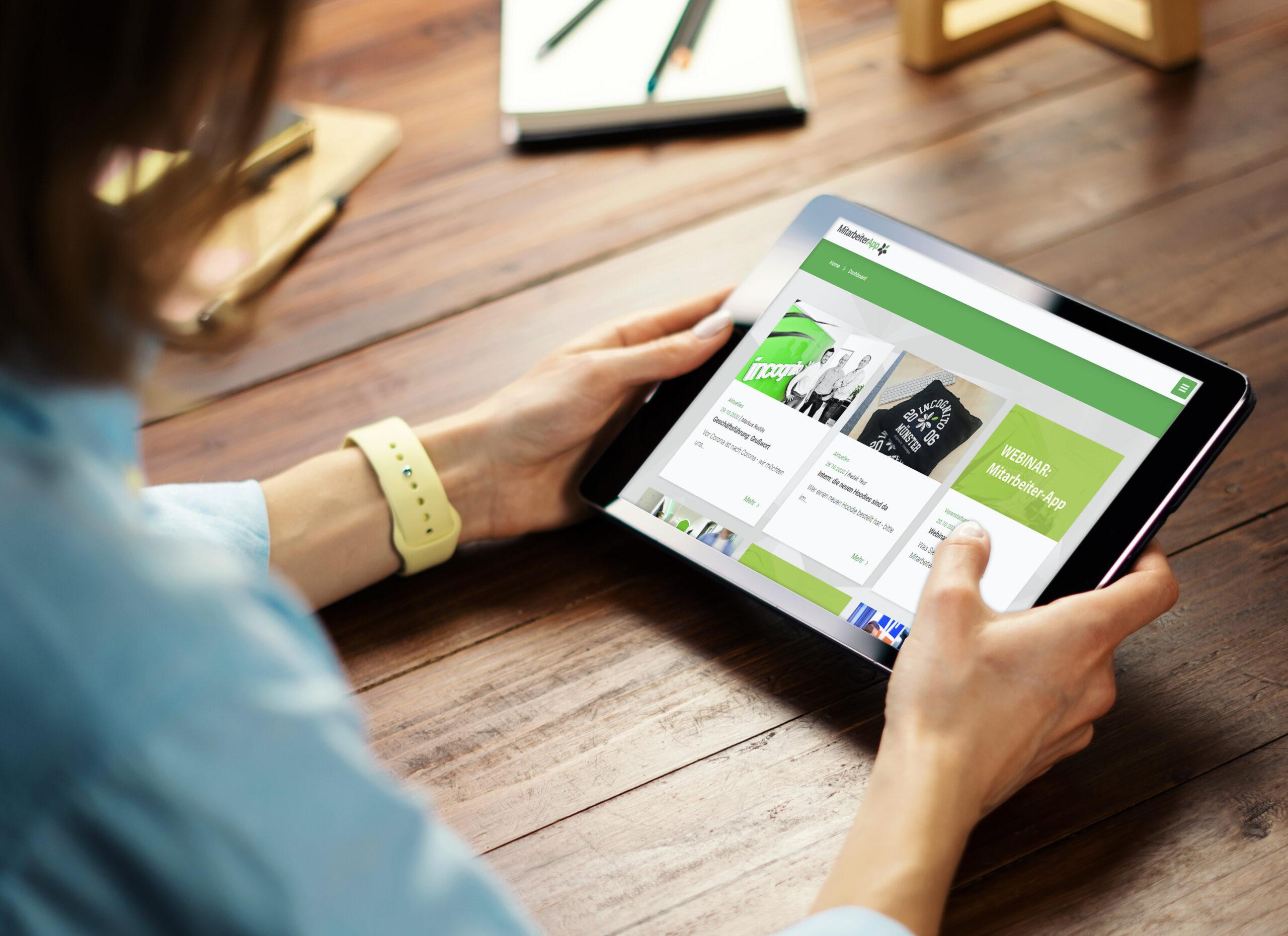 incognito digitale lösungen - Mitarbeiter-App