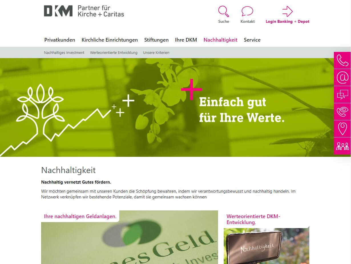 DKM Nachhaltigkeit