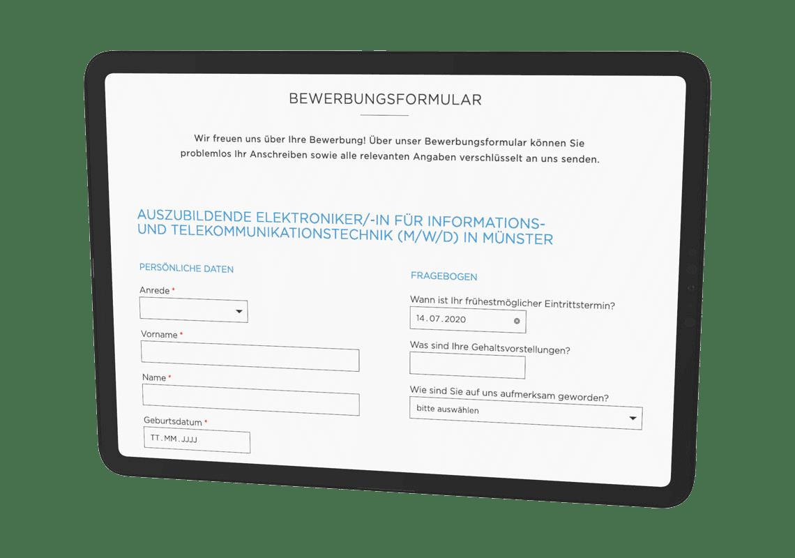 incognito digitale lösungen - Bewerberportal