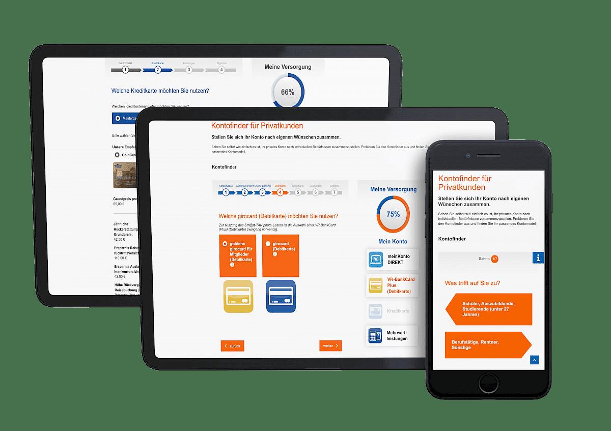 incognito digitale lösungen - Kontomodellfinder