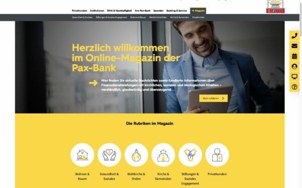 incognito digitale lösungen - Referenz Pax-Bank
