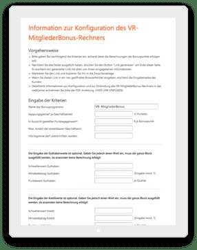 incognito digitale lösungen - Bonuspunkterechner